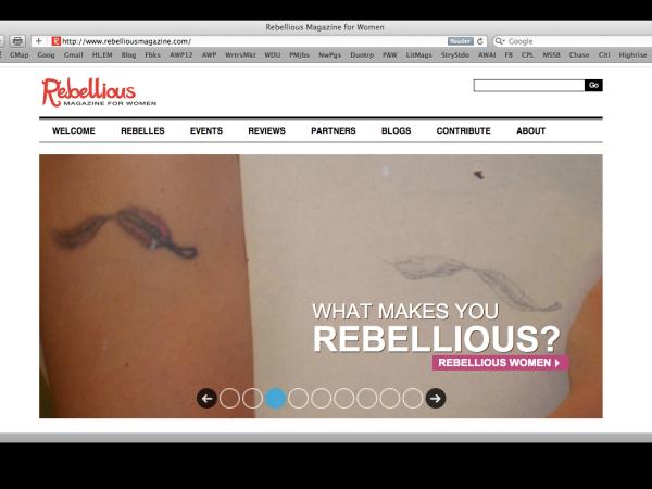 Rebellious Magazine Personal Essay