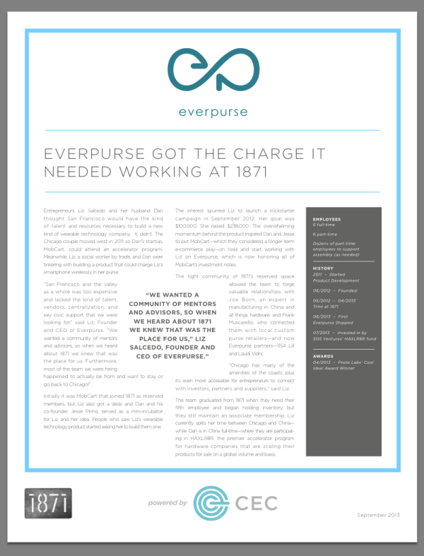 Everpurse 1871 One-Pager