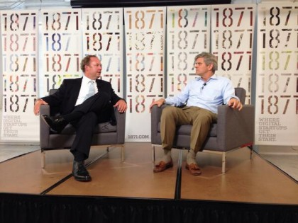 A fireside chat with Steve Case at 1871
