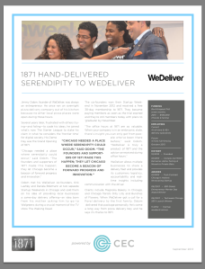WeDeliver 1871 Alumni One-Pager